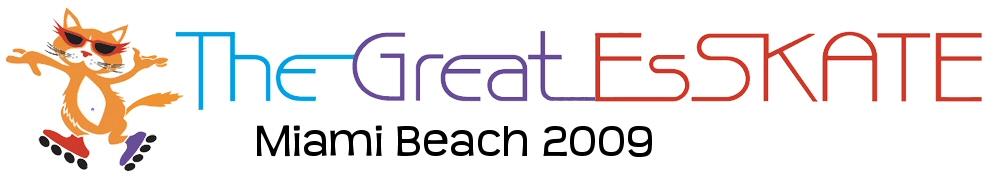 Logo the great eskate